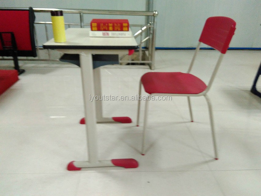 Modern School Desk and Chair/used School Furniture for Sale