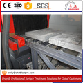 Concrete Blocks Roller Conveyor Shot Blasting Machine
