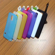 New Matte TPU Back Cover Mobile Phone Cases For Samsung Galaxy S5 i9600