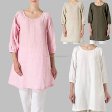Wholesale Online Coat Cotton Material America Australia US European Lady Dress Fashion Famous Brand Linen Fabric Clothing