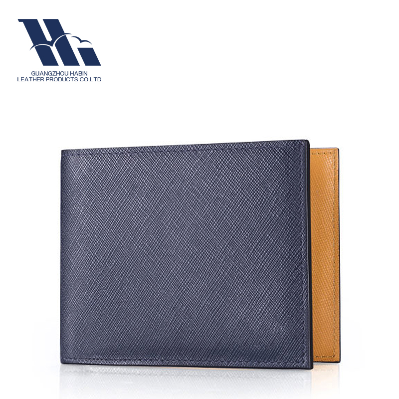 Wholesale Light Brown Wallet Men genuine Leather