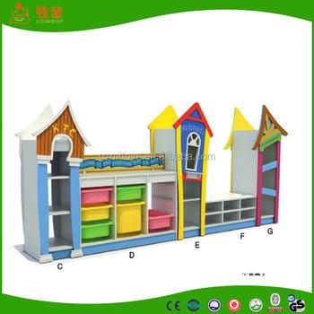 Newly Designed Combined Toy Cabinets,bookcase,bookshelf For Kindergarten  Kids