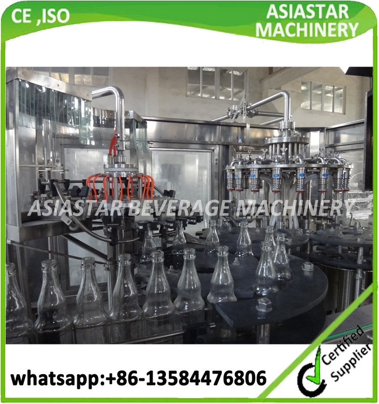 Commercial automatic concentrated apple juice processing plant