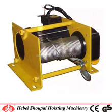 new type portable mini electric winch with factory price