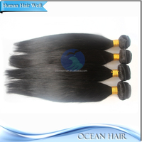 No Chemical Raw Unprocessed Mongolian Kinky Straight Hair