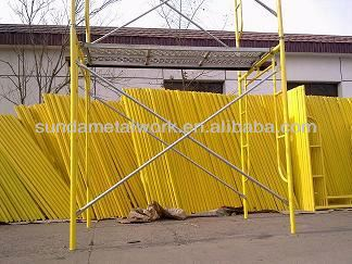 frame scaffolding system, aluminium scaffolding services ,H frame scaffolding