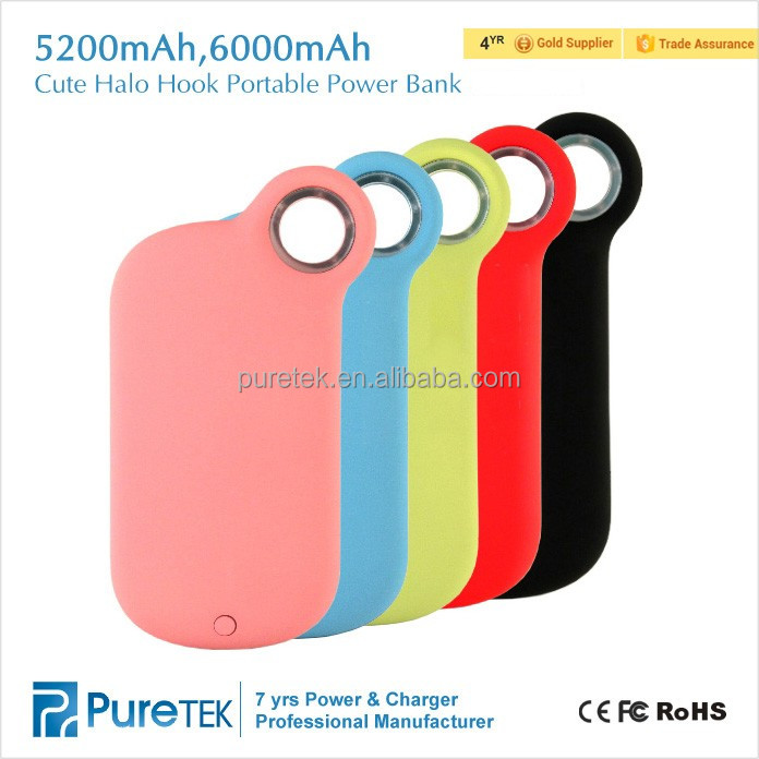 5200mAh Hot Building Products Original Power Bank 6000mAh Power Bank Portable Charger For iPhone6S +plus iPhone 5se ios9