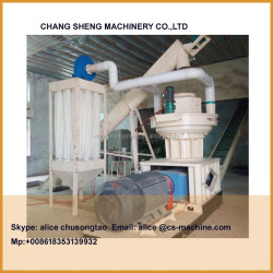 1218 vertical ring die 1.5t/h Wood Pellet Maker Machine