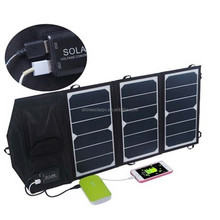 19.5W High efficiency flexible foldable solar panel