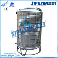 Sipuxin_SUS stainless steel vertical storage tank raw water or pure water tank containers