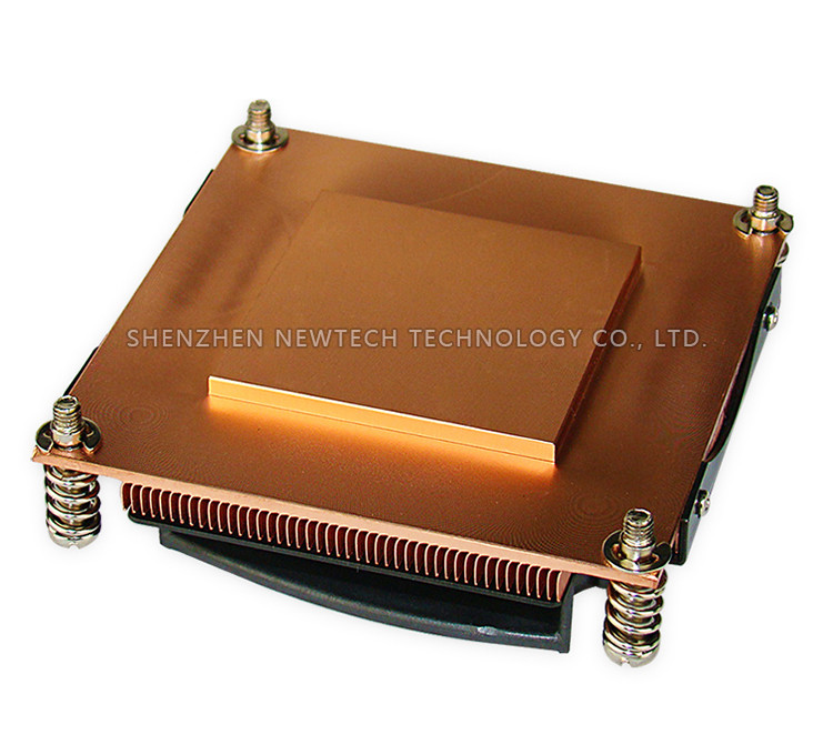 Best selling Intel Xeon E5-2600 v2 copper heat sink /2011 heat sink/Server heat sink