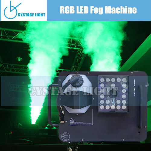 Club and Stage 21 x 3w LED RGB Fog Machine 1500W