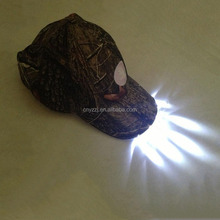 Factory Source High Quality Panther Vision Led Lighted Hats