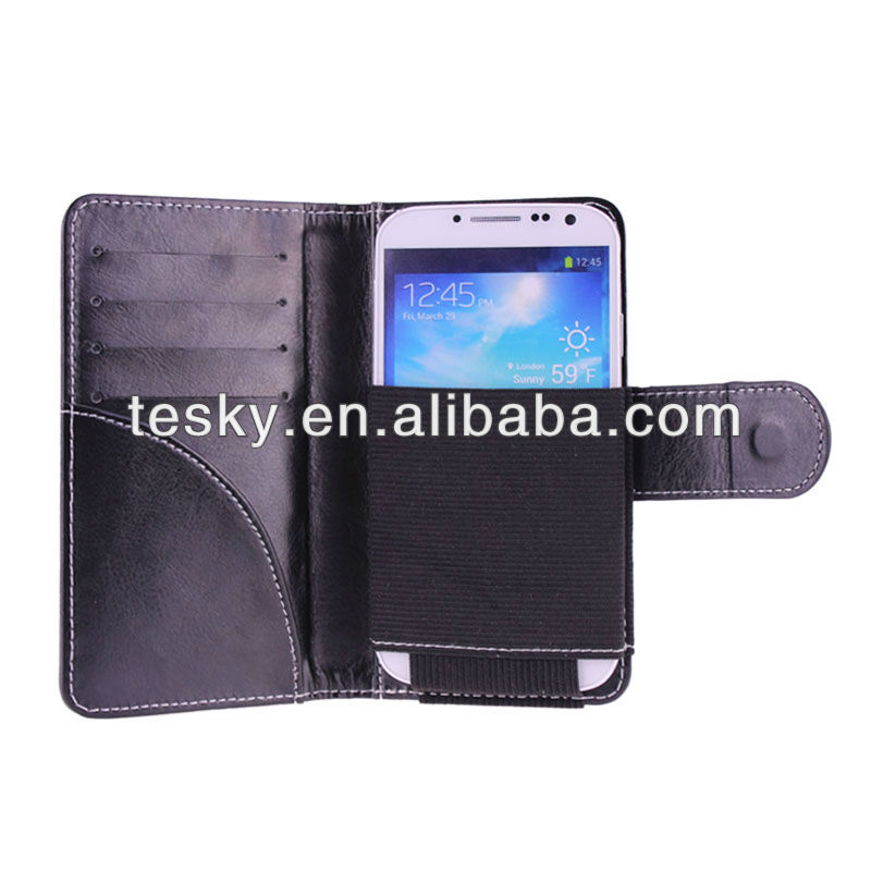 Wallet Carrying PU Leather Case Cover Pouch For Motorola RAZR D1