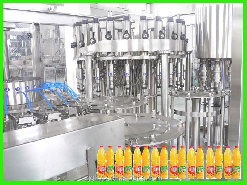 Automatic Bottle Juice Equipment for Juice Factory