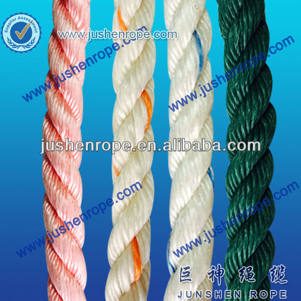 Customized newest color craft pp rope