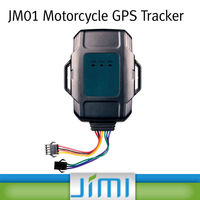 JIMI 2014 Easy Install Alarm System Function long distance gps tracker JM01 with Panic Button and Engine Cut Off JM01