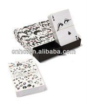 Customized expression playing cards