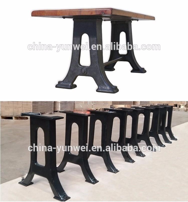 Chine 2017 vente chaude fer bureau jambes pieds de meubles for Meuble bureau jambes