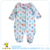 New printed design winter toddler baby girl long sleeve sleeping jumpsuit