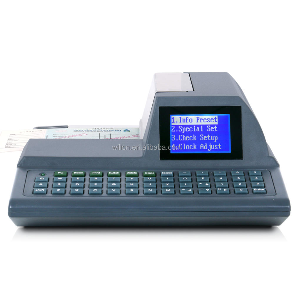 cheque printing printer