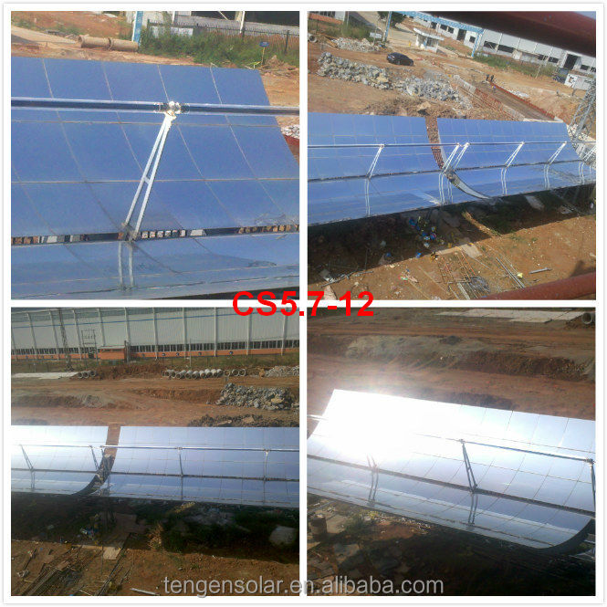 Guangzhou parabolic trough solar collector