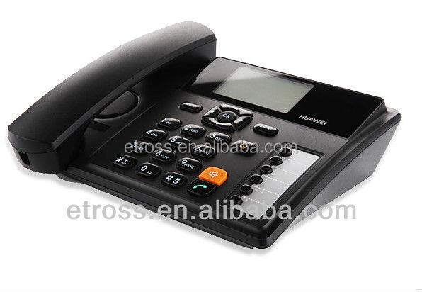 fixed wireless phone Huawei B160 Provide alarm clock, calendar, calculator, world clock, practical application tools