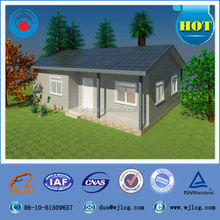 prefabricated house family living prefab house EPS sandwich panel prefab house