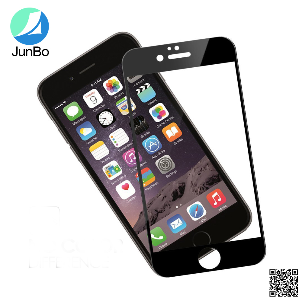 3D coverage smooth touch phone lcd screen protector for iphone 7 tempered glass