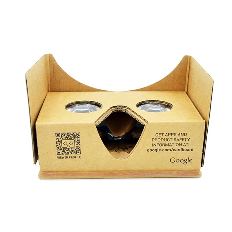 new product high qualit google cardboard and low price 3d vr glasses promotional gifts branded vr goggles