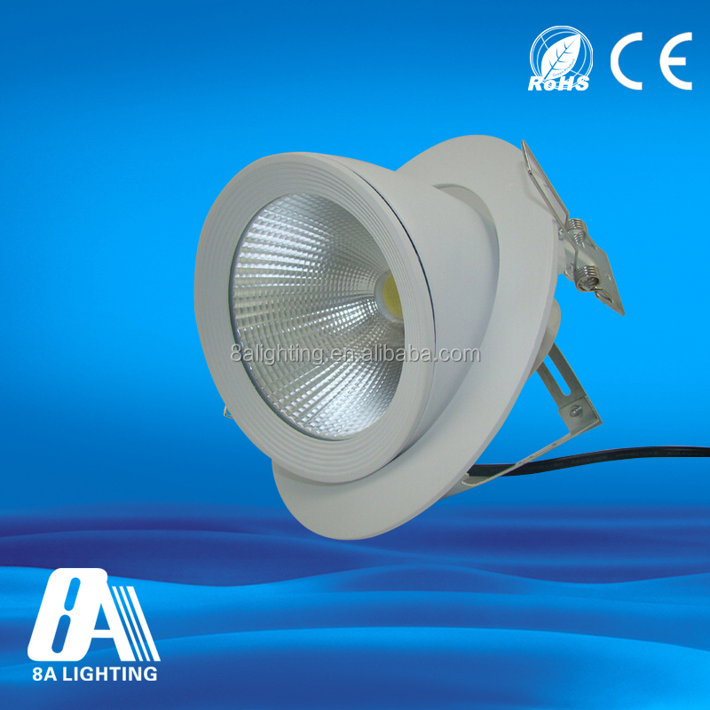CE,ROHS certification factory price COB 10W led downlight