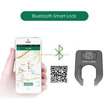 Super Intelligent Phone APP Control Smart Alarm Bluetooth bike lock