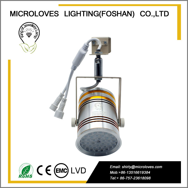 portable LED jewellery exhibition spot light ZHS36*60W-9000K