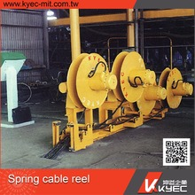 Taiwan KYEC China Factory Supply French Type Extension Cable Rope Reel/Cable Reel Drum