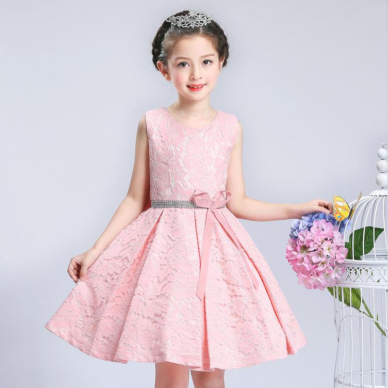 Venta al por mayor diseños de vestidos infantiles-Compre online los ...