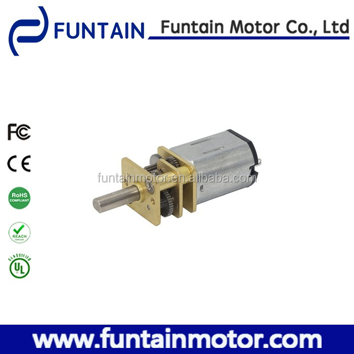 12mm 6v small electric gear motor 12GFN20 for robot and medical equipment