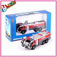 1:50 mini high-pressure water gun fire meal truck toys