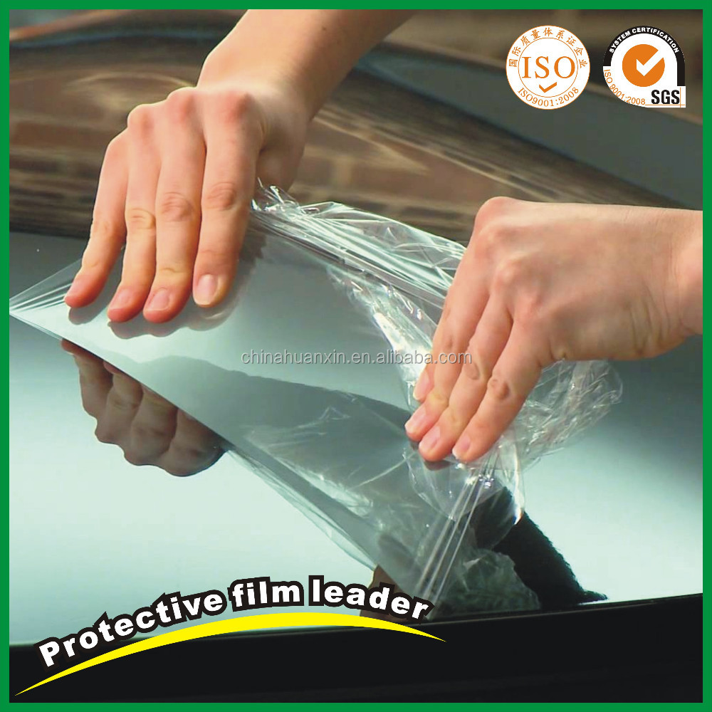HX-292 Transparent pe tempered glass protective film