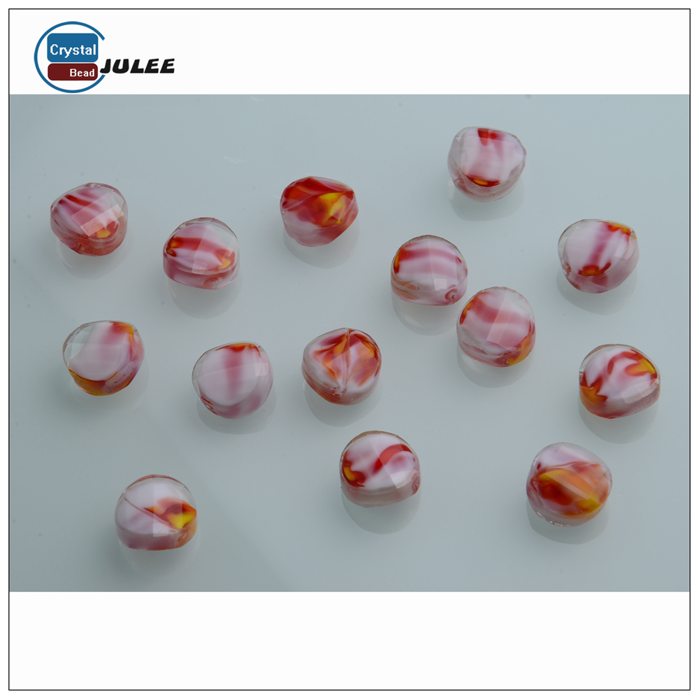 European lampwork beads german glass beads crystal beads for wedding dress