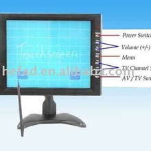 "10.4"" LCD Touchscreen Monitor with 2 AV and 1 VGA"