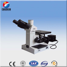 Three eyes inverted optical microscope widely used in factories/laboratories/ teaching and scientific fields