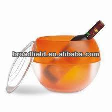 2014 HOT SALE HIGH led ice cooler bucket with custom logo printing