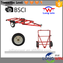 Heavy Duty Industrial Steel Folding Utility Trailer