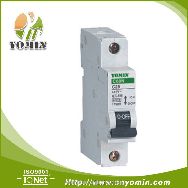 Manufacturer New Type C60N C25 Mini Micro MCB,Miniature Circuit Breaker