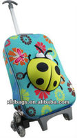 2013 cartoon travel luggage bag kids bag school trolley bag suitcase for children
