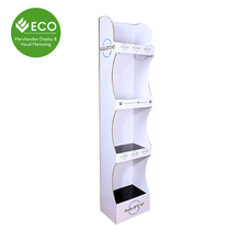 Store Retail Display Floor Stand for Lotion Display, Shampoo Display for Baby