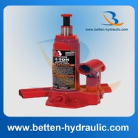 Long ram portable hydraulic bottle jack