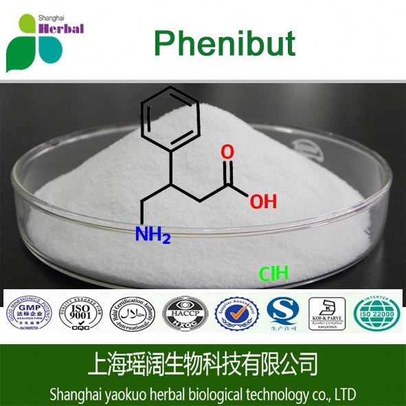 Bulk low price pharmaceutical Phenibut 99% cas 1078-21-3