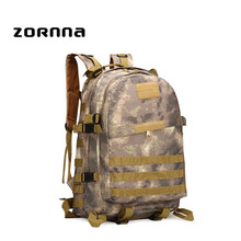 Popular Brands Quality Factory Vintage Outdoor Adventure Military Rucksack Canvas Tactical Hiking Backpack
