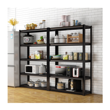 Home adjustable light duty 5 tier metal boltless <strong>shelves</strong>
